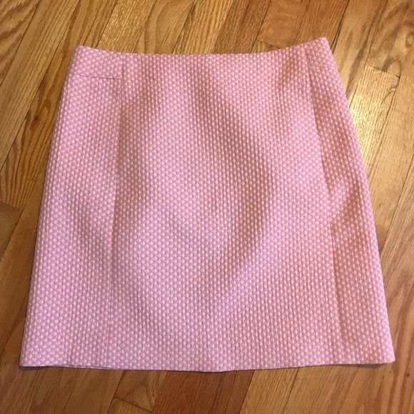 LOFT Dresses & Skirts - Pink and white polka dot skirt